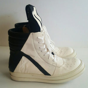 Reduced!!!!!!!!!!!Rick Owens Geobaskets in size 40